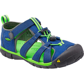 Keen Seacamp II CNX Sandals Youth True Blue/Jasmine Green